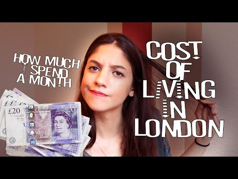 Living In London On A Budget || Rent, Salary, Transportation, Going Out