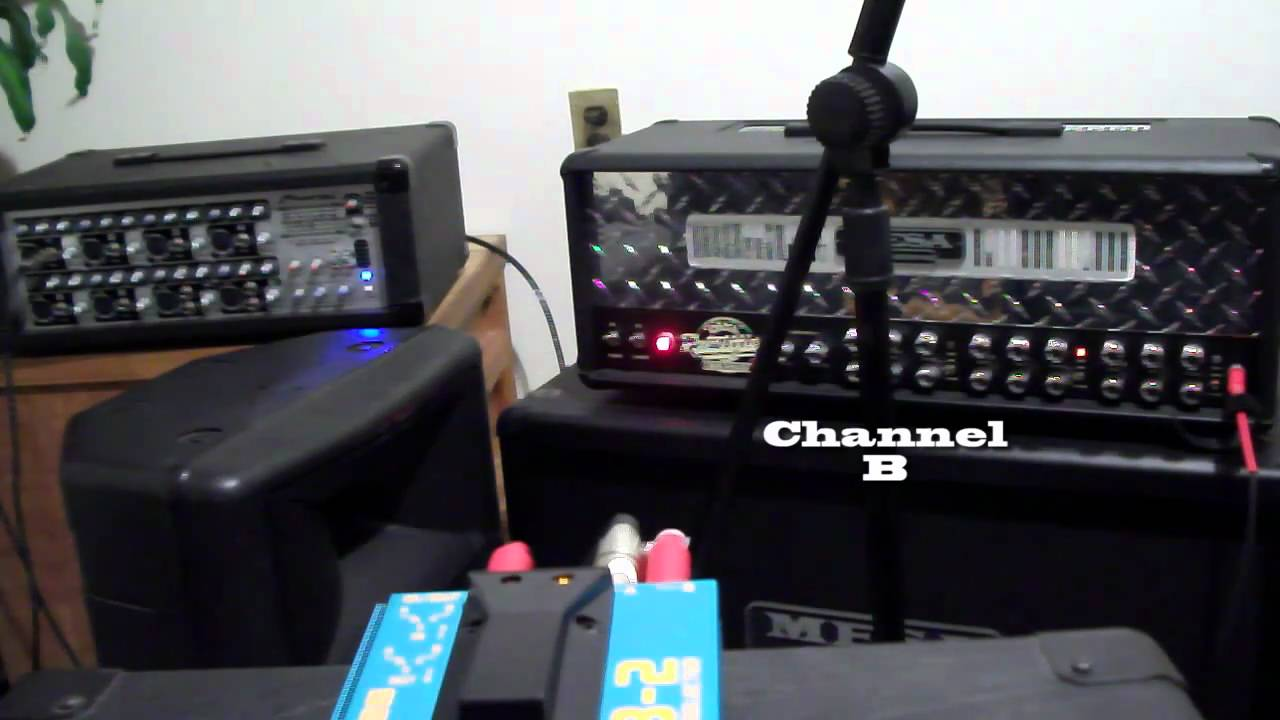 Boss AB Way Selector Foot Pedal Review Footswitch Video Demo - Two way footswitch