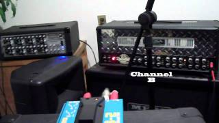 Boss AB-2 2 Way Selector Foot Pedal Review footswitch Video Demo