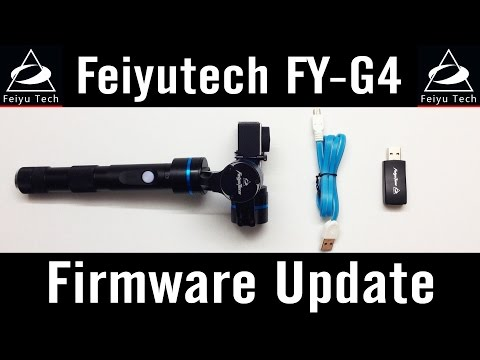 Feiyu-Tech FY-G4 #6 Firmware Update V1.11 How To Use Upgrade Software Tutorial GoPro Review Mac User
