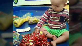 Metalic Sensory Play