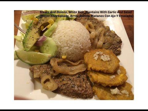 Bistec Encebollado Sin Salsa / Steak & Onion Without Tomato Sauce...