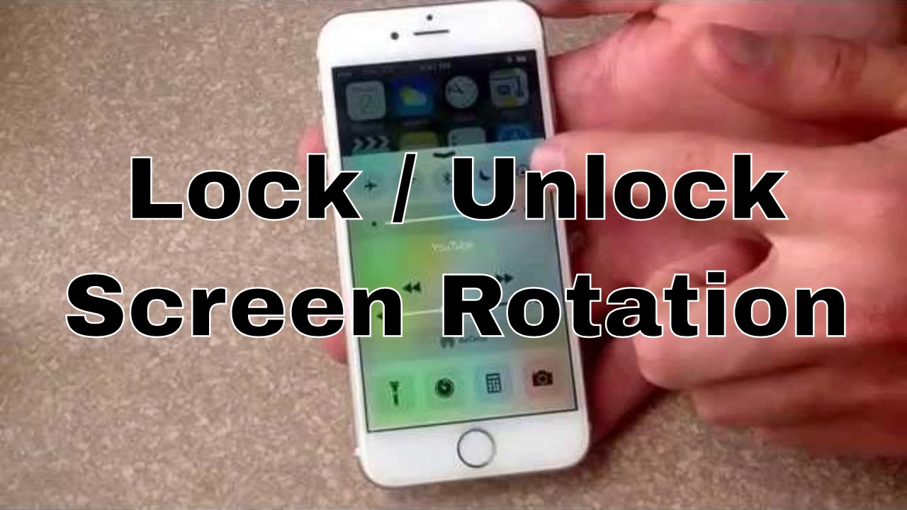 brand new 6327a ca80e iPhone 6 / iPhone 6 plus - How to lock / unlock screen rotation
