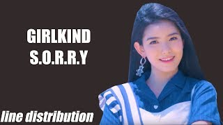 GIRLKIND - S.O.R.R.Y (Line Distribution) - Stafaband