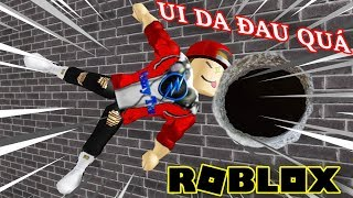Roblox | Banging His Head On The Wall When Trying To Fly Through Hole | Hole In The Wall | Vamy Tran