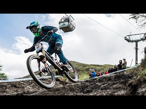 Greg Minnaar's Winning MTB Run: Fort William  UCI Mountain Bike World Cup 2017