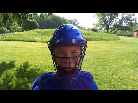 Wilson Youth Baseball Catcher's Gear Unboxing And Try On ~ Riley's Reviews