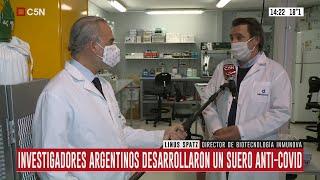 El mundo habló del suero anti-covid argentino