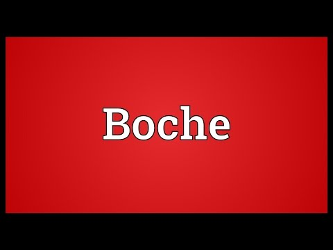 Boche Meaning