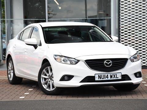 Wonderful Used Mazda 6 2.0 SE Nav 4dr White 2014