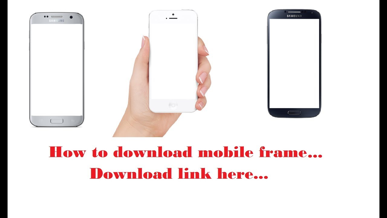 How to download mobile frame easy  Bangla android tech