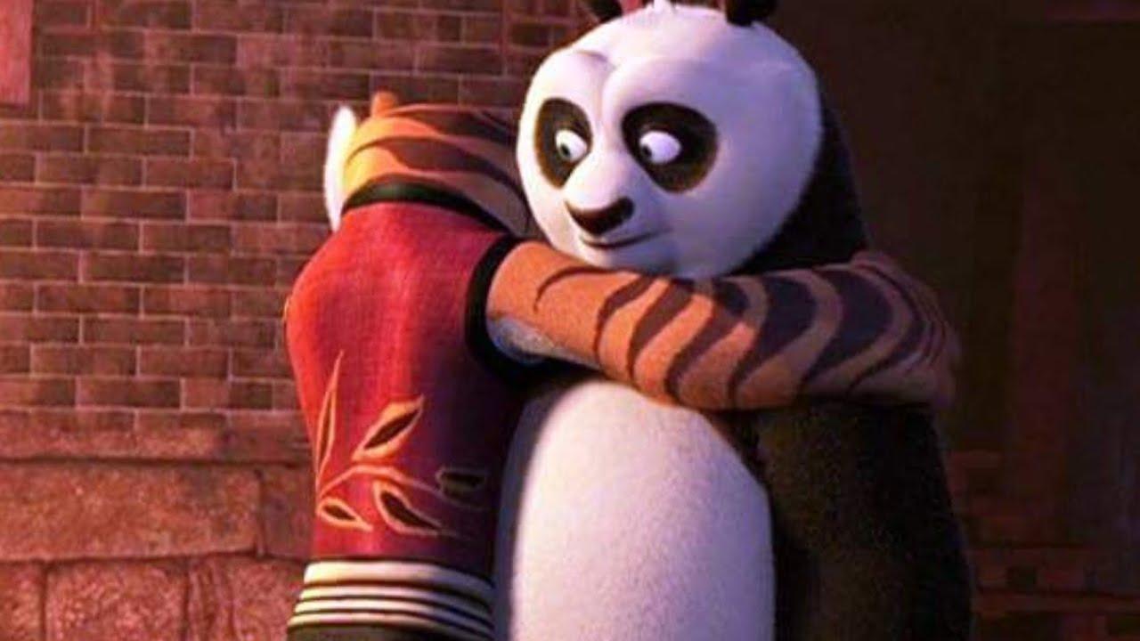 Num1 Po Y Tigresa Momento Abrazo Kung Fu Panda 2