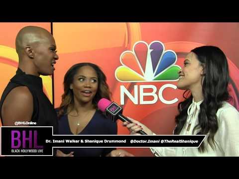 Married To Medicine LA   Dr. Imani Walker & Shanique Drummond   NBC Midseason Press Day