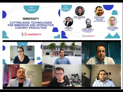 Immersify Panel at Cannes XR Virtual 2020