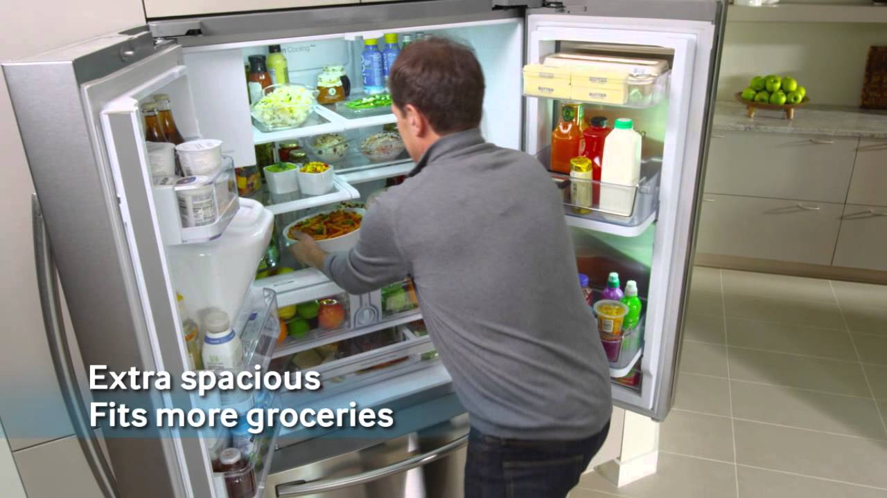 28 cu ft french door refrigerator with showcase door youtube ft french door refrigerator with showcase door youtube rubansaba