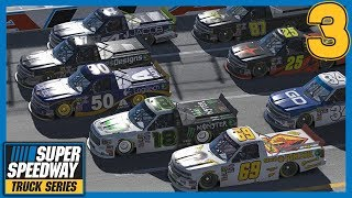 THAT'S NOT GONNA WORK! iRacing - Superspeedway Truck Series Round 3 at Talldega thumbnail