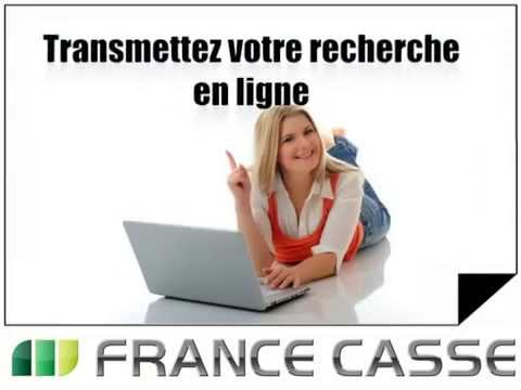 france casse pi ces auto et moto d 39 occasion sur internet youtube. Black Bedroom Furniture Sets. Home Design Ideas