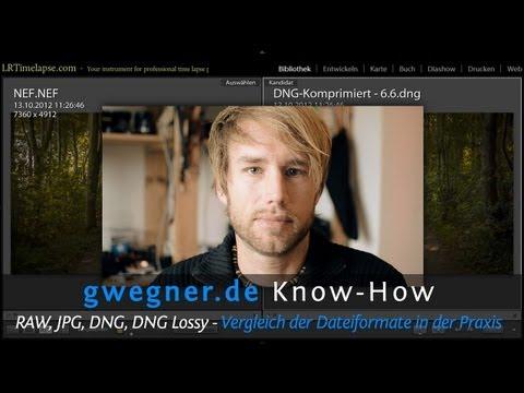 RAW, JPG, DNG, DNG Lossy -- Vergleich Der Dateiformate In Der Praxis   Gwegner.de