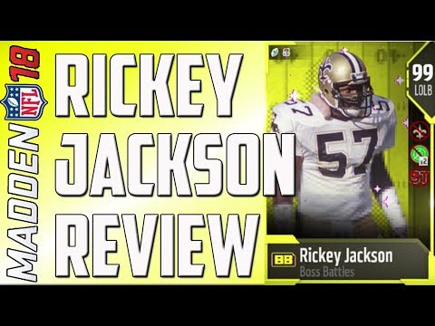 How Good is 99 Overall Rickey Jackson? MUT 18 Card Review