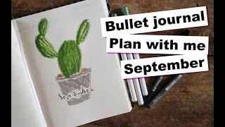 PLAN WITH ME SEPTEMBER | BULLET JOURNAL - Julie Liv
