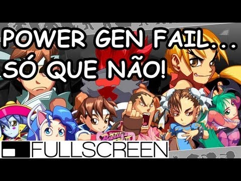 GBA #1 - Super Puzzle Fighter II Turbo -  Power Gen Fail.. SQN!