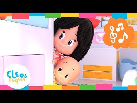 HICKORY DICKORY DOCK y más canciones. Cleo & Cuquín   Familia Telerín. Canciones infantiles