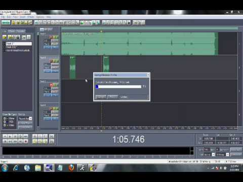 The Basics of Cool Edit Pro, How to record, save, Etc..wmv