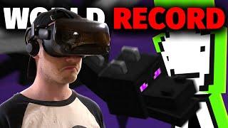 I Tried To Beat Dream's Minecraft Speedrun in VR