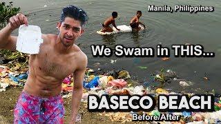 We Swam in Manila's Dirtiest Beach (Baseco Beach)