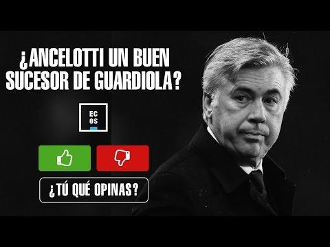 ¿Es Ancelotti un buen sucesor de Guardiola en el Bayern Munich?