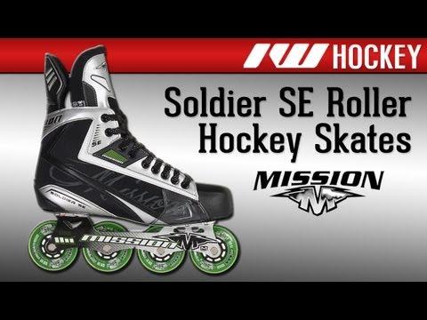 Mission SE roller hockey skates Inline-Skates
