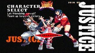 Project Justice Momo Shoma and Natsu Playthrough