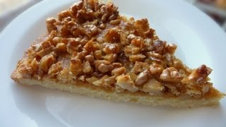 Como preparar Kuchen de Nuez, Receta