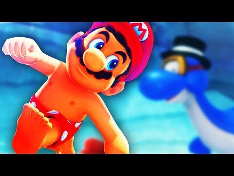 UNEDNLICH UNTER WASSER BLEIBEN !! | Super Mario Odyssey (Part 4)