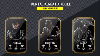 MORTAL KOMBAT X MOBILE UPDATE 1.12 WAS LIVE NOW FOR IOS AND ANDROID