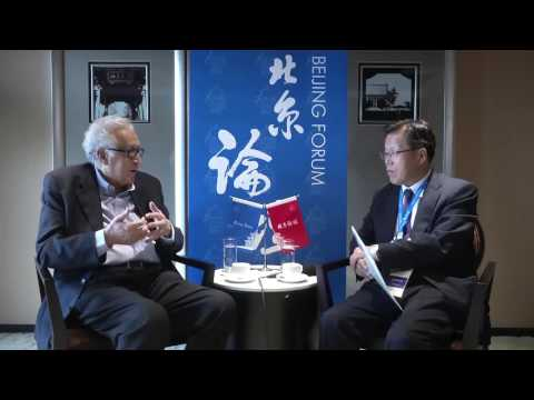 [2015 Beijing Forum] KFAS Interview : Lakhdar Brahimi