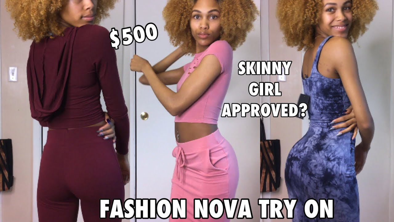 a1a1d4fdf Is Fashion Nova For Skinny Girls   500 Try-On Haul - YouTube