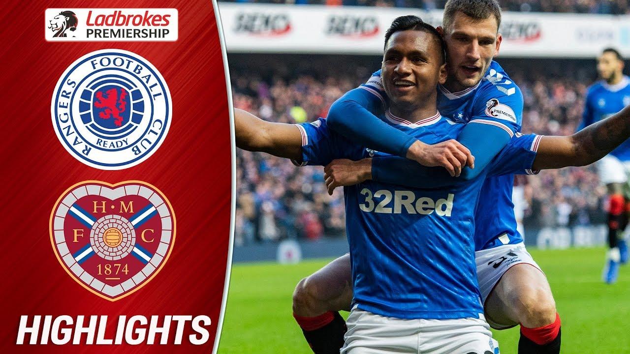Rangers 5-0 Hearts | Rangers End Weekend 1 Goal Behind Celtic! | Ladbrokes Premiership image