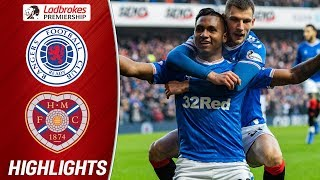 Rangers 5-0 Hearts | Rangers End Weekend 1 Goal Behind Celtic! | Ladbrokes Premiership