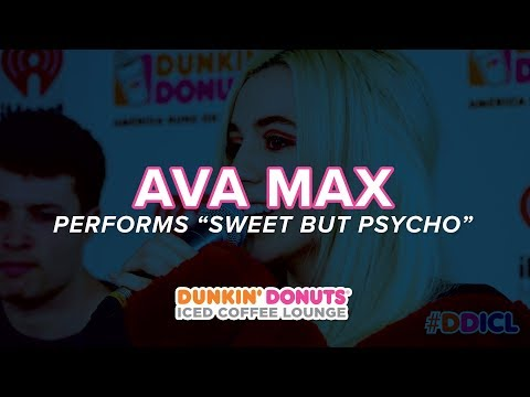 Ava Max Performs 'Sweet But Psycho' Live | DDICL