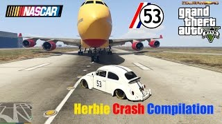 GTA V: Herbie Fully Loaded Nascar Style Crash Compilation