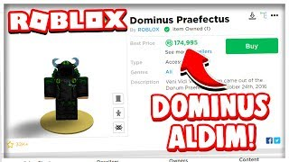 😱 BOUGHT DOMINUS !! & HOW I WON ROBUX ?!? 😱 / Roblox English