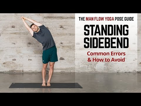 Standing SideBend Pose Guide Common Errors