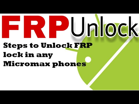 How to unlock FRP without OTG cable (Micromax) 100% work