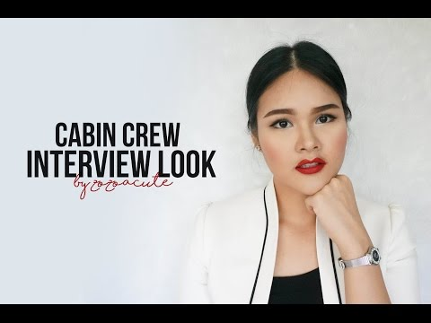 [HOW TO] แต่งหน้าสมัครแอร์ตะวันออกกลาง Makeup for cabin crew interview