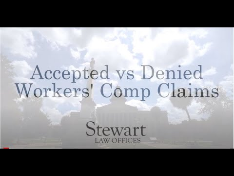 Differences Between Accepted and Denied Workers' Comp Claims - South Carolina - Stewart Law Offices