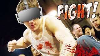 Getting In An EPIC Bar Fight In VIRTUAL REALITY | Drunkn Bar Fights | Oculus + Touch Gameplay