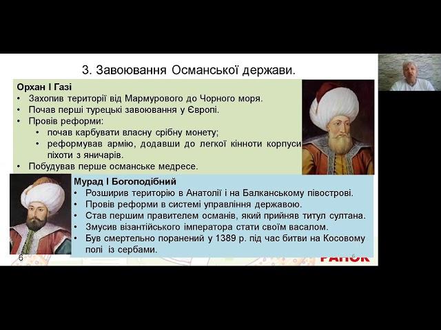 7 клас. Всесвітня історія. Утворення Османської імперії