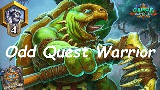 Hearthstone: Odd Quest Warrior #6: Rastakhan's Rumble - Standard Constructed Post-Nerf