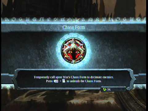 Darksiders Walkthrough Part 25 - Chaos Form - YouTube
